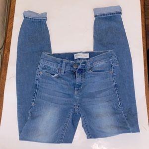 Mudd | women's size 0 low rise skinny with Flex